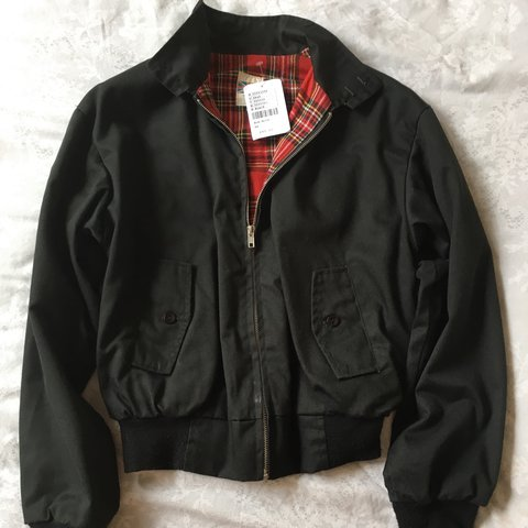 32f695d7b24 Brand new with tags black Harrington bomber jacket from Size - Depop