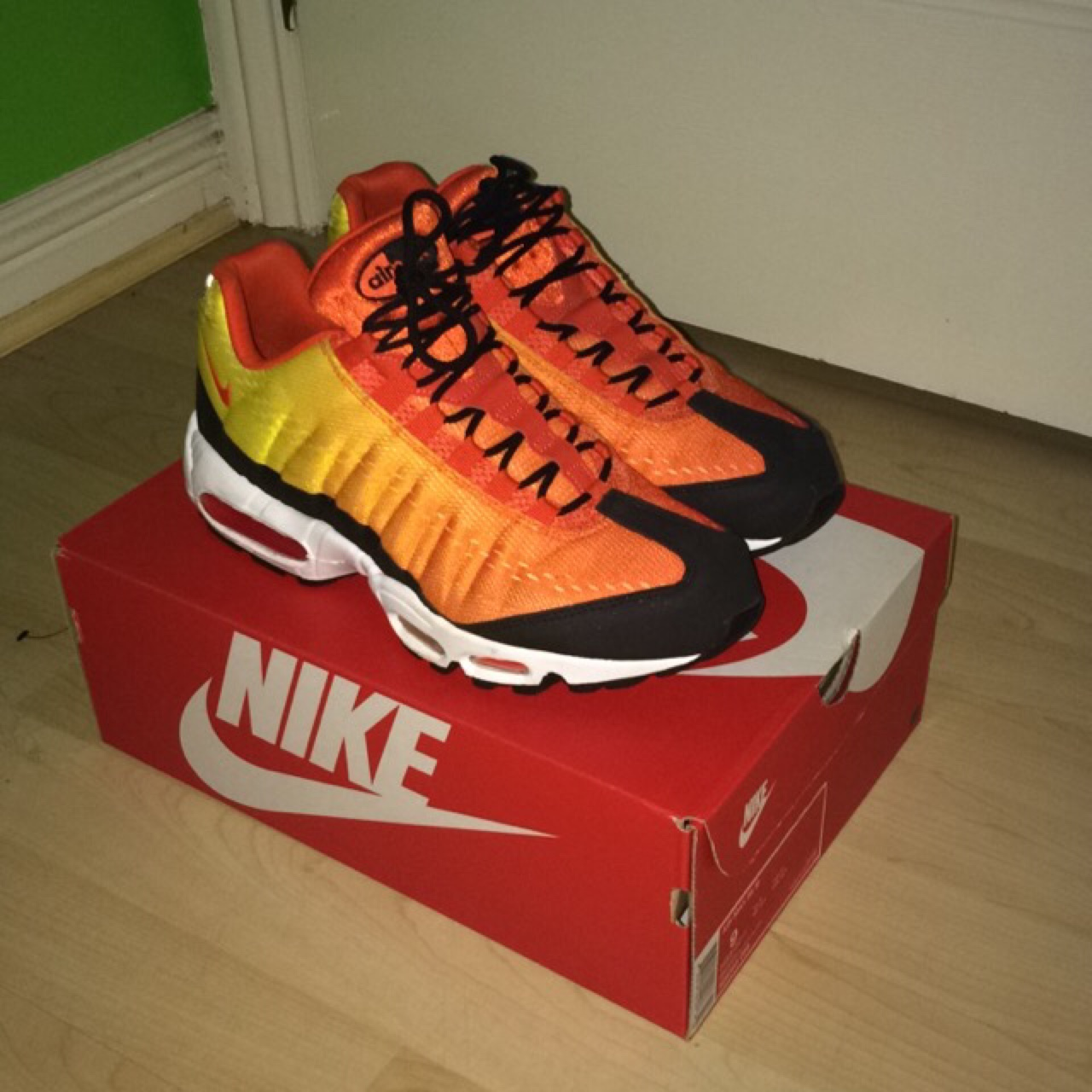 nike air max 95 heatwave. Deadstock. Very rare shoes