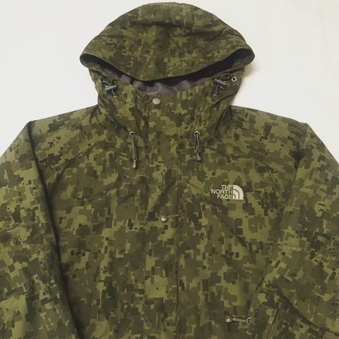 657d78901cdbf The North Face Digital Camo Jacket - Small - Supreme Patta - Depop