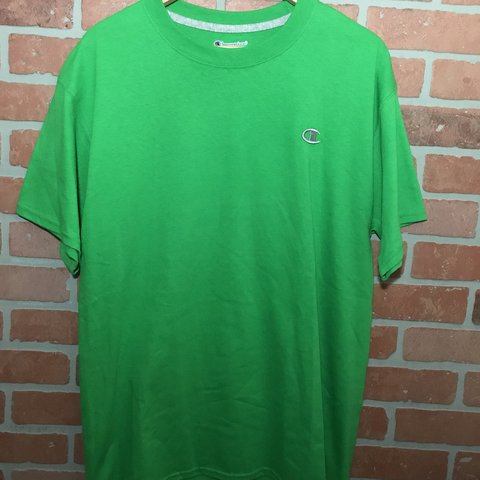 "66a96763 @jakejensenyoo. last year. Scotts Valley, United States. Vintage Champion  ""C"" Logo Tee Size Large Great condition"