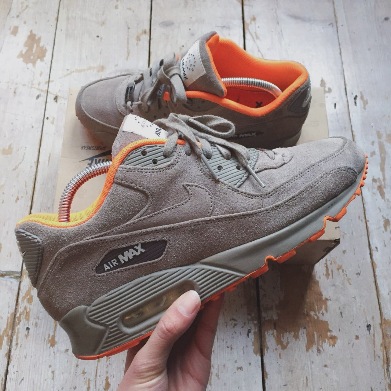 the best attitude 713ae 5f94d  ncamps. 2 years ago. London, UK. Nike Air max 90 Milan.