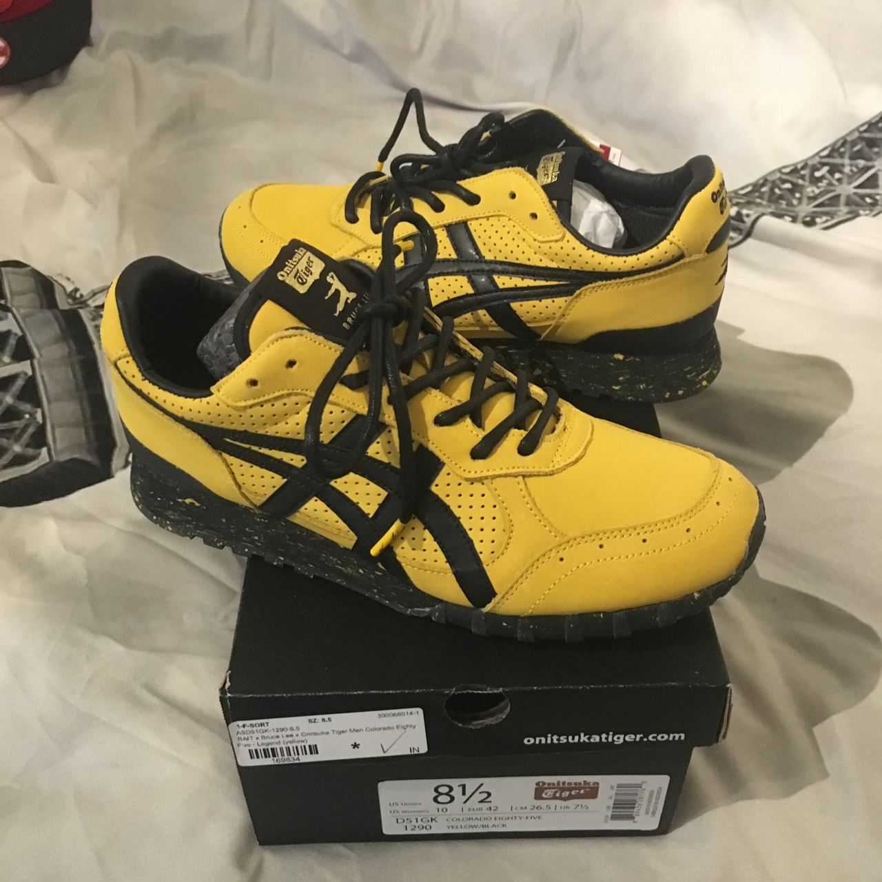 premium selection 42c8e 92ac5 Bruce Lee x bait x Onitsuka tiger collab for Bruce... - Depop