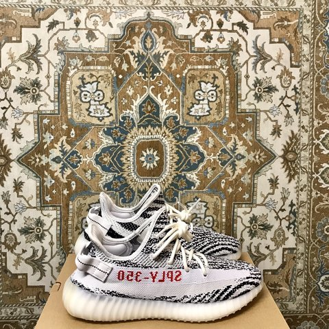 368536c40  laithe21. 4 months ago. United Kingdom. Adidas yeezy 350 boost. Size  uk  8.5  brand new in box with tags  Footlocker receipt