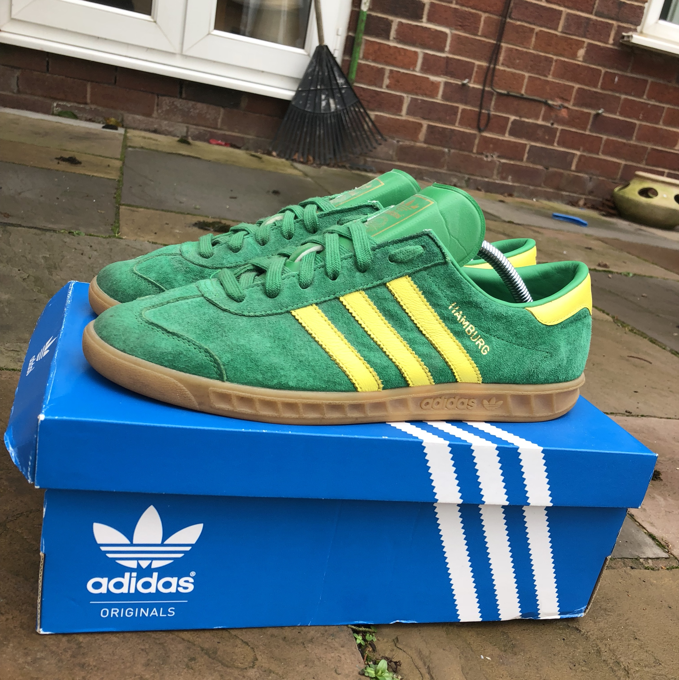 12 And Size Adidas Depop Yellow Trainers 9 Green Hamburg 7yfYbg6
