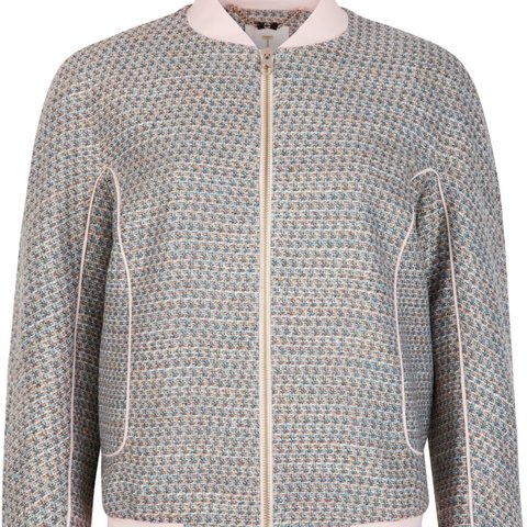 4944d13ec Price drop! Ted baker talitha tweed bomber jacket