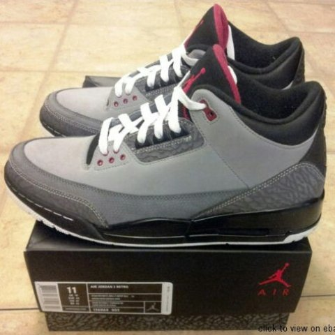 7740beedef1cc6 Nike air jordan 3 stealth worn once in excellent condition 2 - Depop
