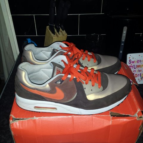 Nike air max light jaffa cake rare size 10 open 2 offers - Depop 527c90b1e