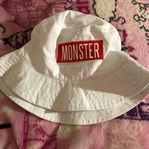 65607a9d70611 Monster tour Bucket hat for toddlers🔥 Tags   monster - Depop