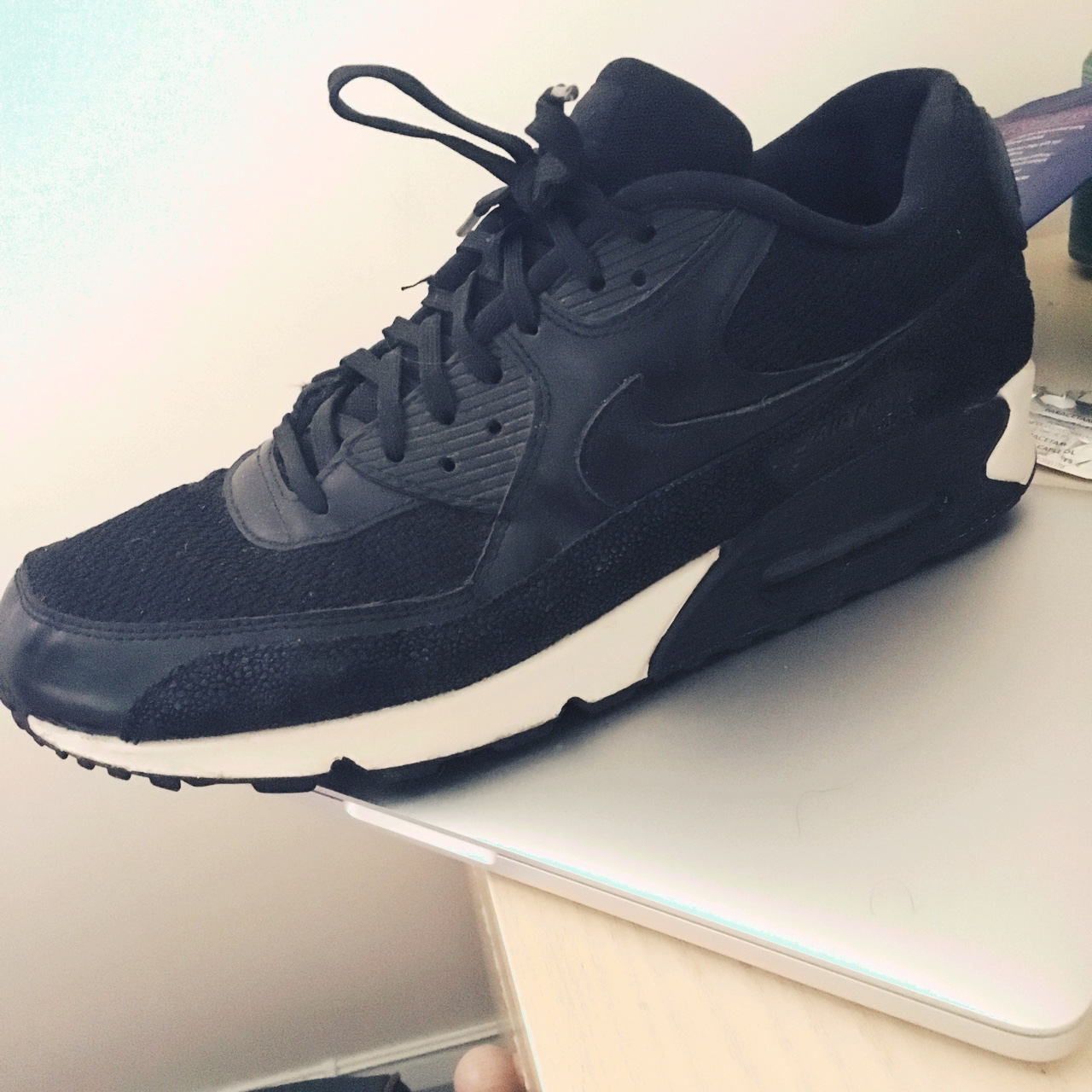 brand new e9dc7 ce852 Nike Air Max 90 stingray pack size 12. Will fit 11... - Depop