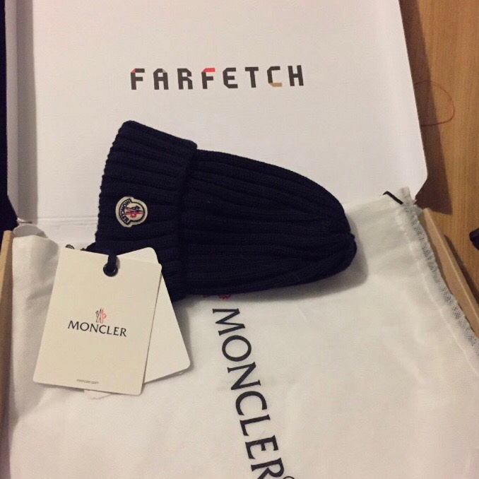 d6ab271dd AUTHENTIC MONCLER HAT WITH TAGS AND BAG. NEVER WORN ...