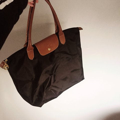 74265075685 @marthaf. 2 years ago. Dublin, Ireland. Imitation black Longchamp bag, size  large.