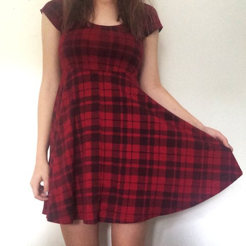 3f49d01ede7 Cute plaid skater dress from Ally 💞 a very loved item