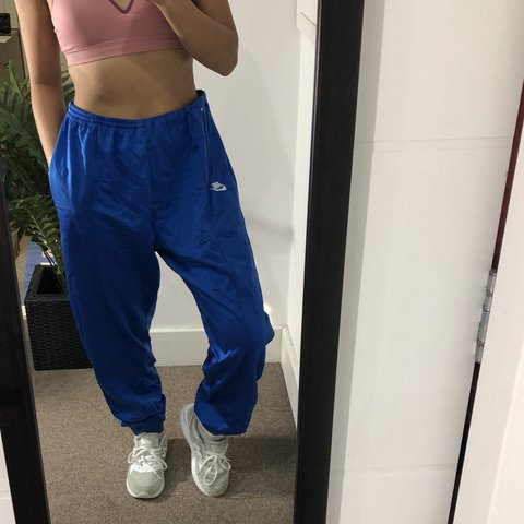 b6c2de92a3df5 @marivera. 8 months ago. Reading, United Kingdom. Vintage Nike Men's Tracksuit  Bottoms Joggers | Loose Fit Baggy Style Tapered Leg ...