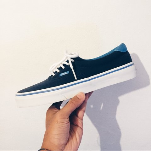bdfbc821ce7742 Vans era 59   EU40   New + OG BOX  vans  sneakers  blue  era - Depop
