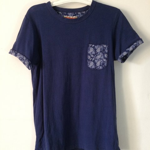 b2aa447c07d Urban outfitters Paisley tee. Small. Over all condition tee - Depop