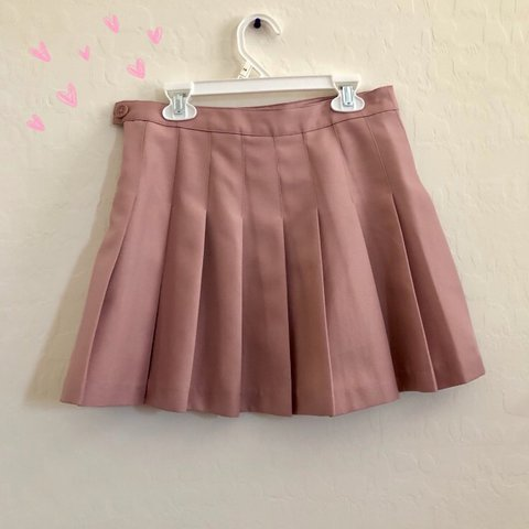 54c975dd3b @irlcactus. 11 months ago. Las Vegas, United States. Pink forever 21 tennis  skirt in very good condition size extra small