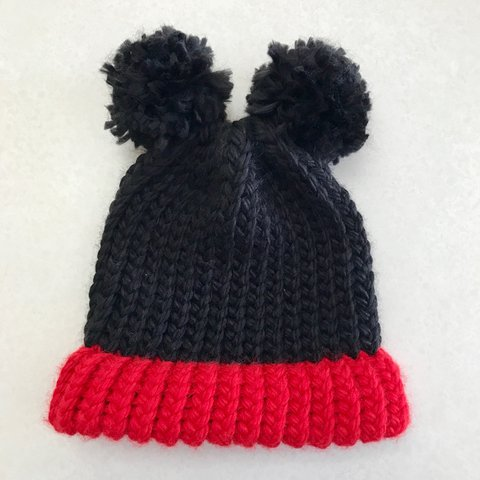 Mickey mouse hats handmade by me! Crocheted with love for of - Depop 06c6e89b5650