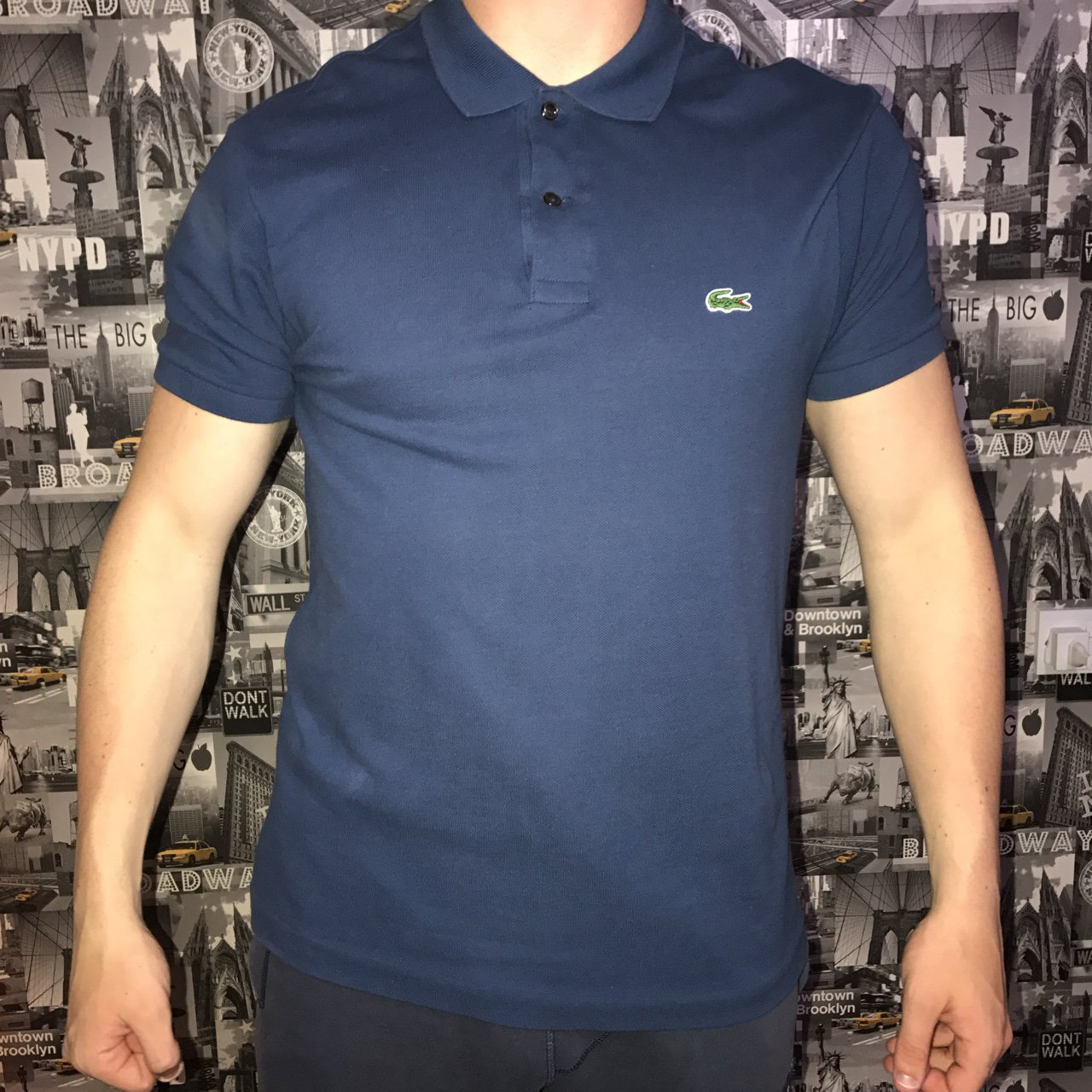 f94d67abb096ec @til_lightfoot_x. 2 years ago. Barrow-in-Furness, United Kingdom. Navy blue  men's Lacoste polo shirt.