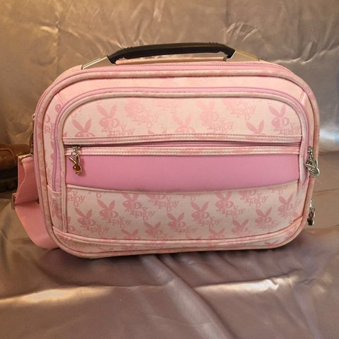 Omg grab this legally blonde pink playboy bunny laptop bag a - Depop d1054d5809487