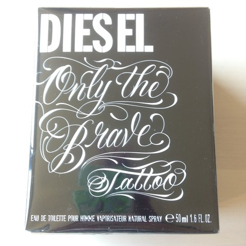 Diesel Only The Brave Tattoo 50ml Eau De Toilette Pour Is Depop