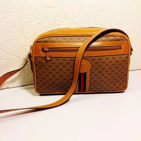 57415065b @deepeevintage. 3 years ago. Elmont, NY, USA. Gucci Vintage Cross Body  Shoulder Bag .