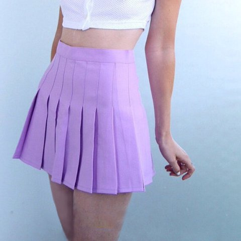 639139b15aca Purple tennis skirt, similar to American apparel Absolutely - Depop