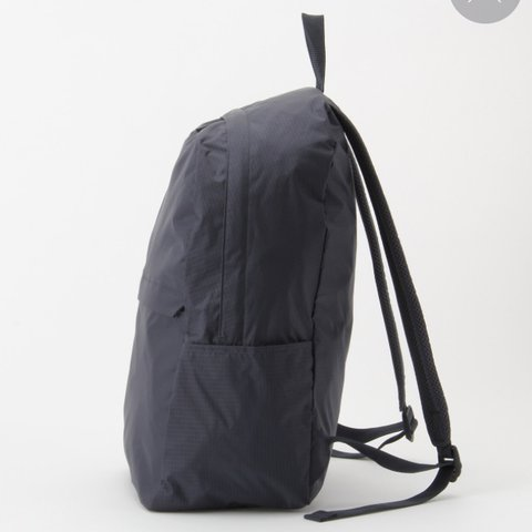 8929e3d641 Muji paraglider cloth rucksack in navy. Made from durable be - Depop