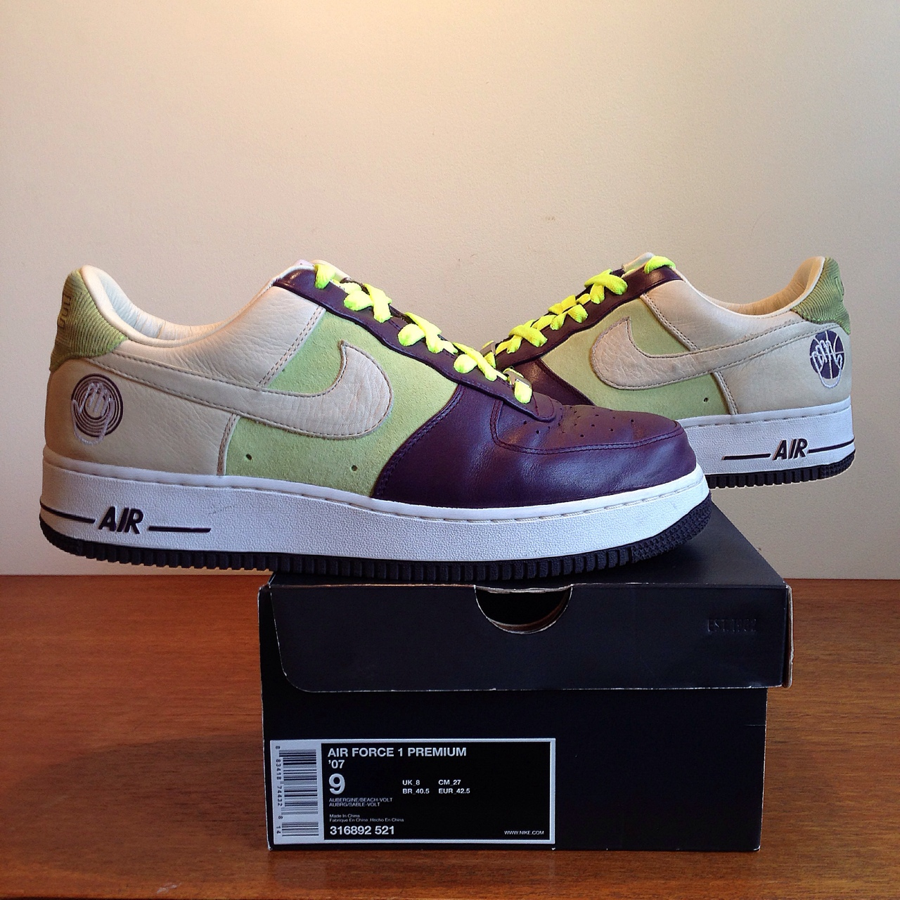 Nike Air Force one premium Bobito released 2007, Depop