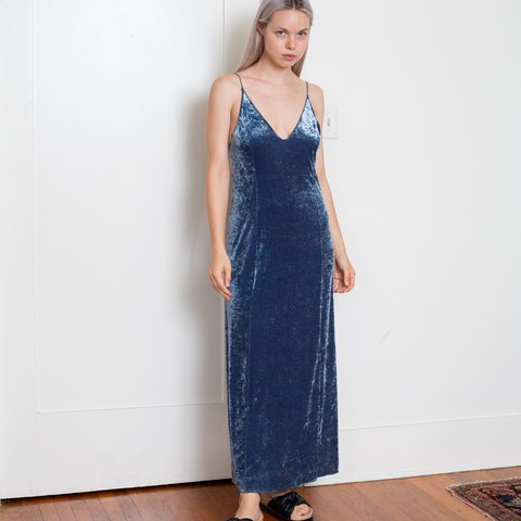 7aa58baaafd0 @showntoscale. last year. Los Angeles, CA, USA. New with tag Free People  stretchy crushed velvet slip dress ...