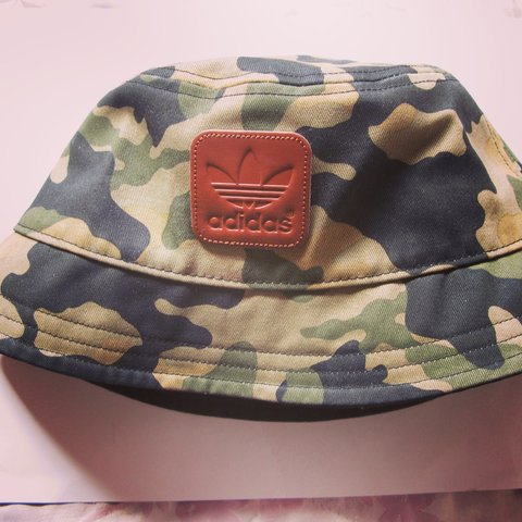 b57e02d7 @milliegamble. 3 years ago. Essex, UK. RARE VINTAGE CAMO ADIDAS ORIGINALS  BUCKET HAT // One size ...