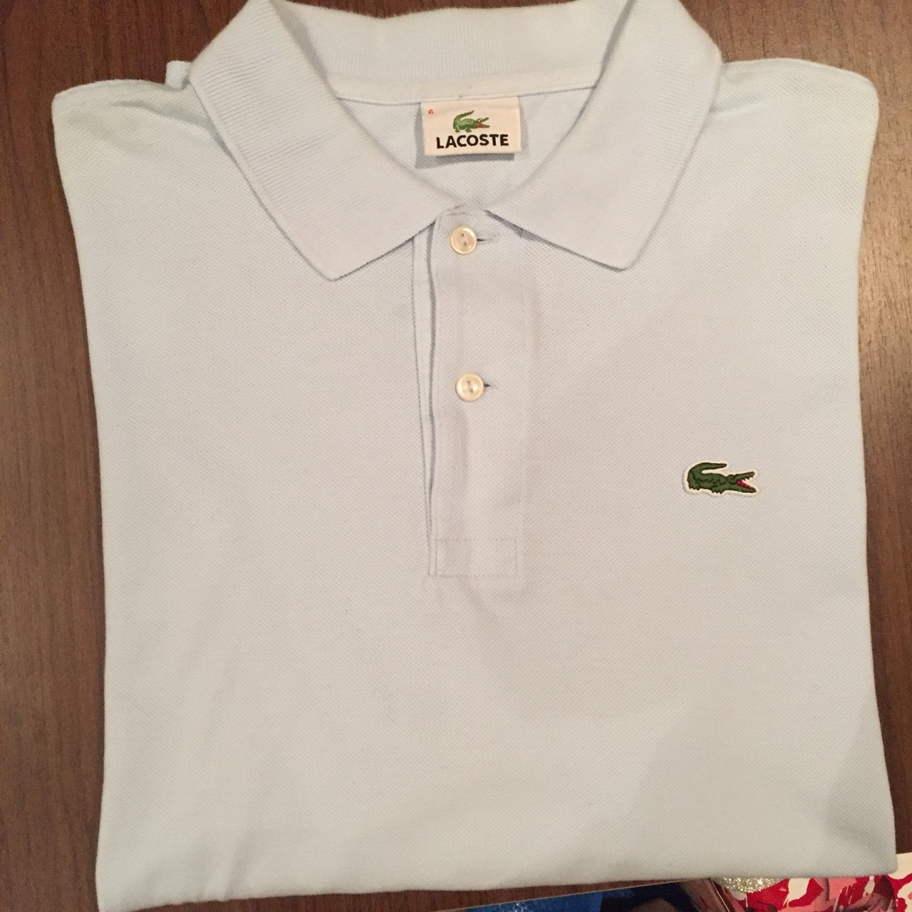 67647a2cf REDUCED  Men s Lacoste Polo short sleeve. Only worn a few 6 - Depop