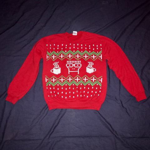 descendents ugly christmas sweater like new condition can depop - Descendents Christmas Sweater