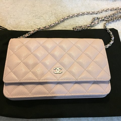 1e2d4df78 Authentic Chanel WOC light pink , very nice color in person - Depop