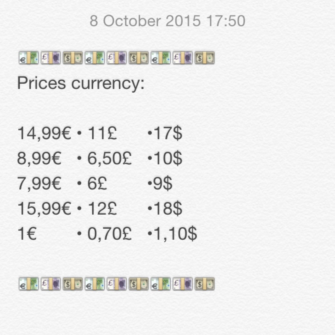 Bea Handmade 2 Years Ago Currency In British Pounds And US Dollars