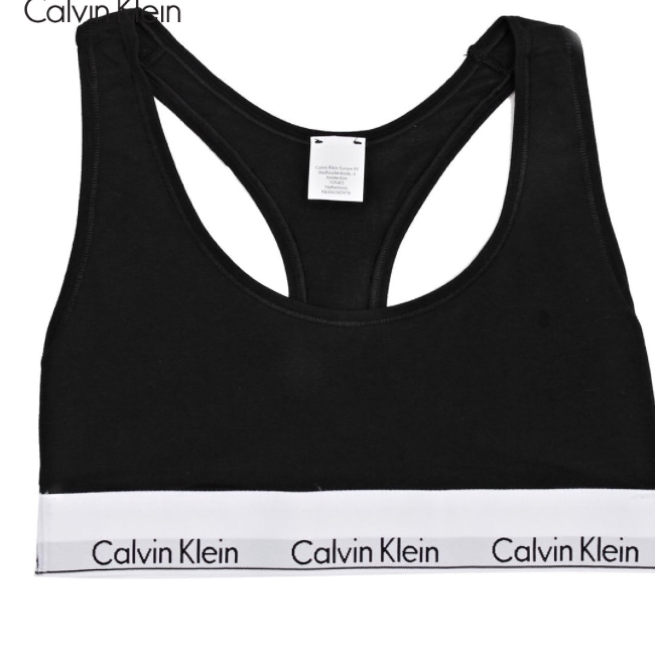 ba3288bec2  teiganwilkins. 3 years ago. United Kingdom. Black Calvin Klein sports bra.  Size S. Perfect condition- never ...