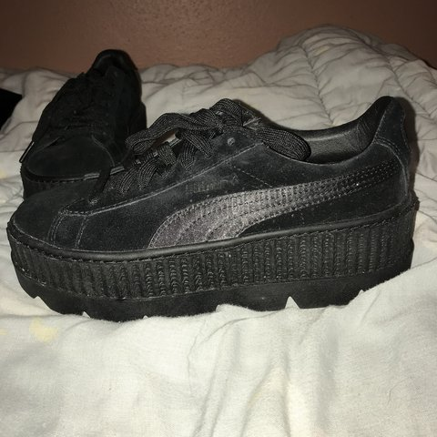 dd31772bb1a0 Onyx Fenty Puma Creeper💖 New with box (I even have the bag - Depop