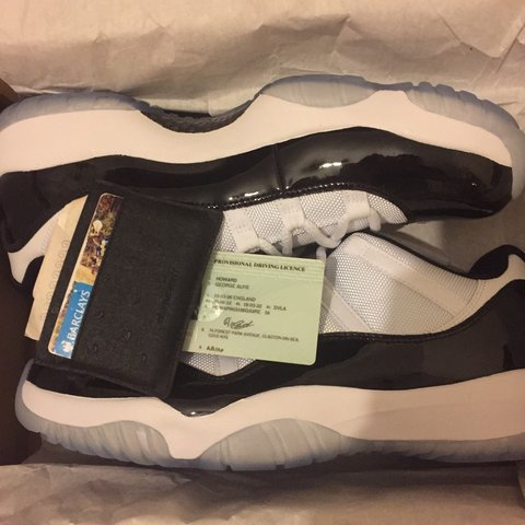 f6cd02aa3d2f Jordan 11 low concord uk11 DS never even tried on £170 ono - Depop