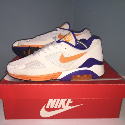 Nike Air Max 180 Mens Uk 9 Good Condition 7 5 10 And A If Depop