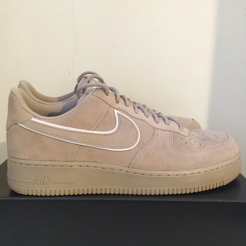 6f1d0c9806b03 @ltrume. last year. Bristol, United Kingdom. Nike Air Force 1 07 LV8 Suede  Moon Particle / Sepia ...