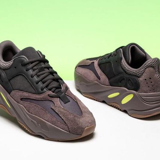 official photos cabe7 78cee YEEZY BOOST 700 WAVE RUNNER MAUVE Taglia: 43... - Depop