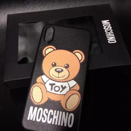 check out f58ee 18a8b Brand new Moschino Black silicone Case in its... - Depop