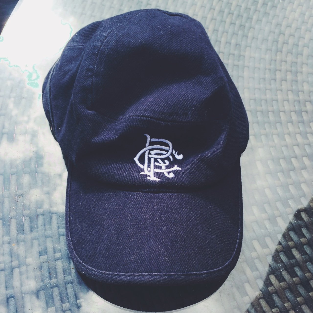 78d6274635e Nike rangers navy blue cap. Great for die hard rangers fans