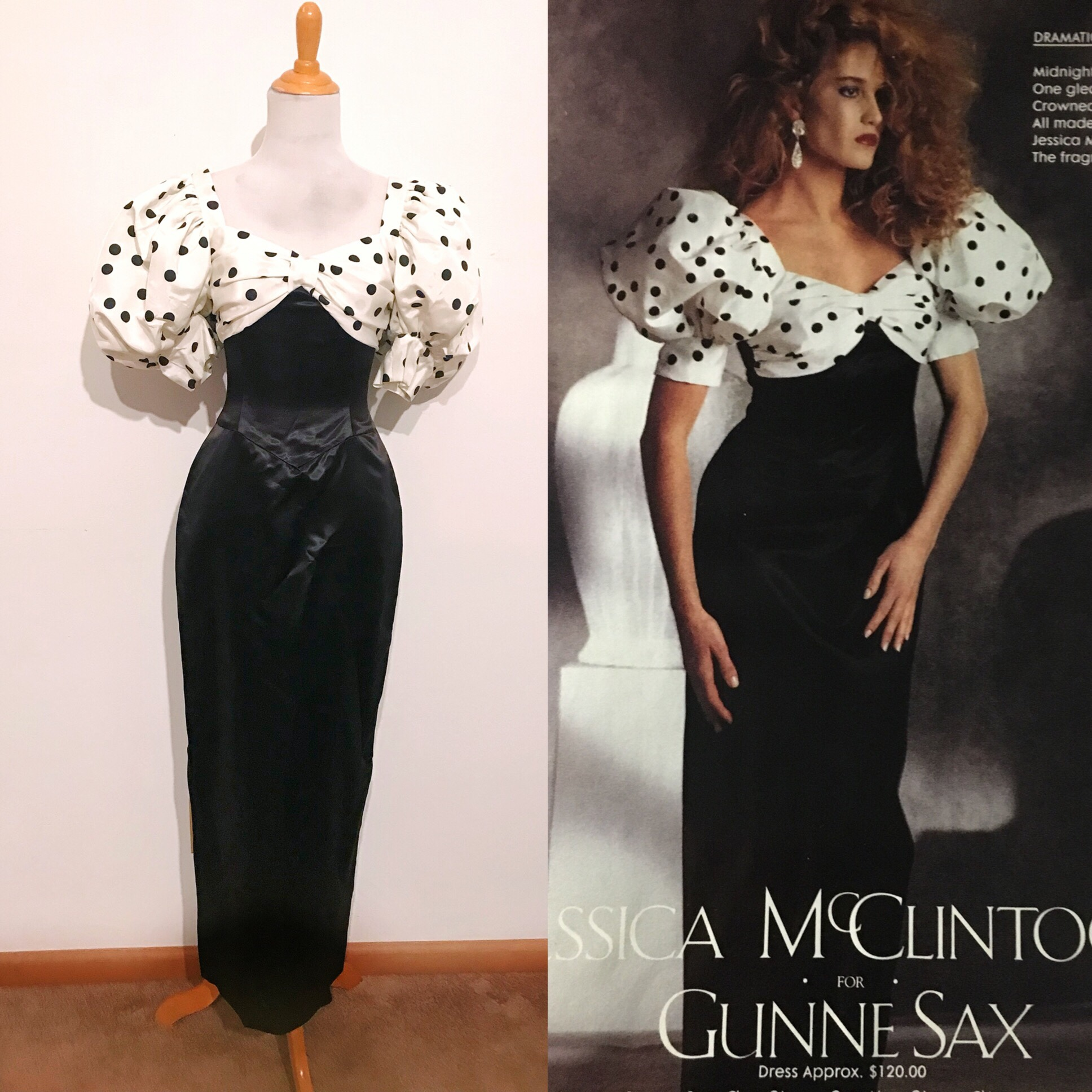 ON HOLD 80s Gunne Sax size 5/small