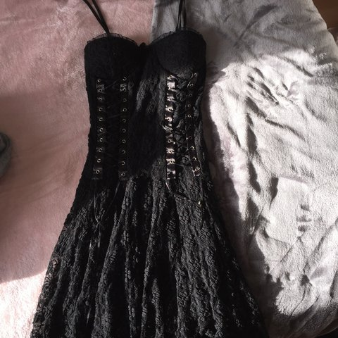 ea01b34574f Lace detail corset dress (one size)! Worn once