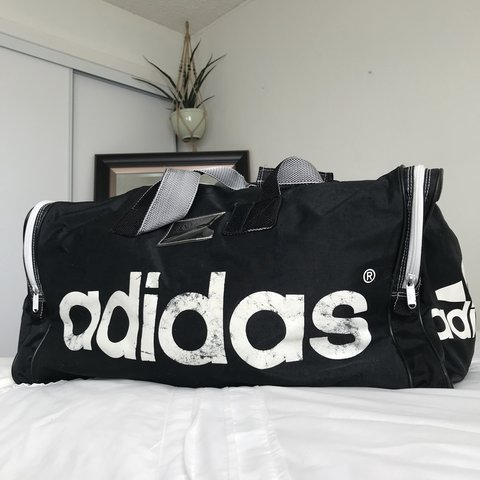 1fbef88295 @whyalexxwhy. 11 months ago. Indio, United States. Vintage Adidas travel bag!  Perfect vintage condition ...