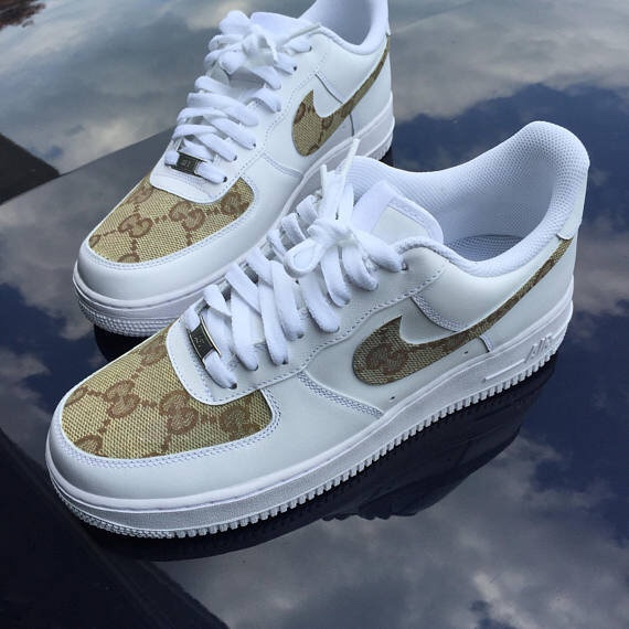 bddf4714802 Gucci Air Force 1 custom #gucci #nike - Depop