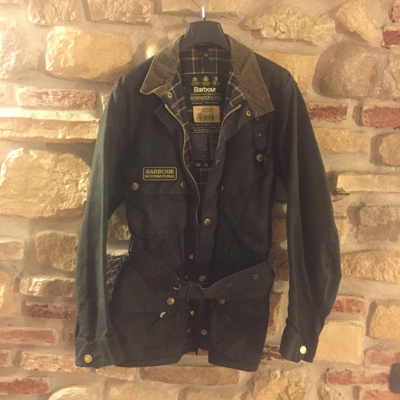 the best attitude 09f4b 481b2 Giacca Barbour International #giacca #cappotto... - Depop