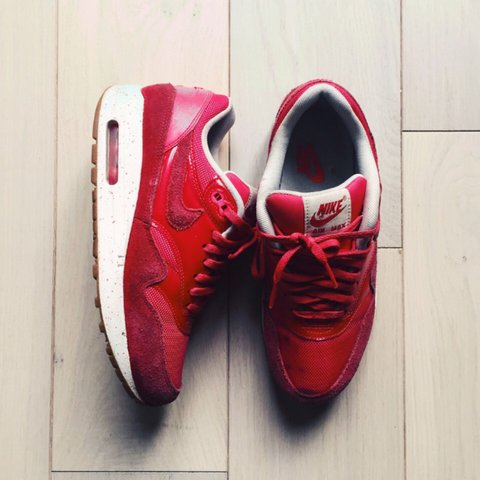 cheaper 774a8 81f75 Nike Air Max red with- 0