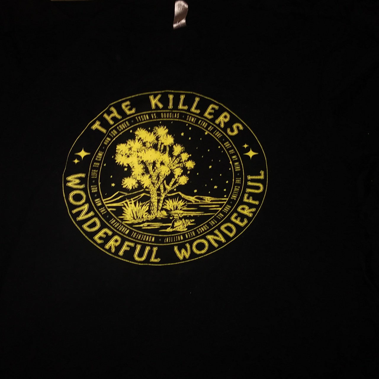 The Killers Wonderful Wonderful North American Tour by Depop
