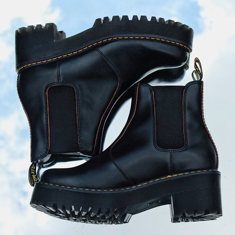 94501afd1 @areathriftyone. last year. Downey, United States. Brand New Women's Dr.  Marten Rometty boots